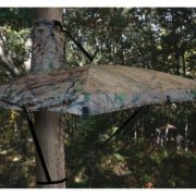 tree stand umbrellas deer hunting foul weather | Big Game Treestands
