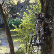 hanging tree stands trim sooting lanes | Big Game Tree Stands