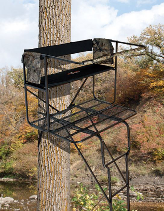 fall turkey hunting from a tree stand | Big Game Treestands